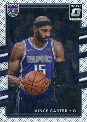 Basketball Carter Vince (2017-18 Donruss Optic #126 Vince Carter Sacramento Kings Basketball Card)