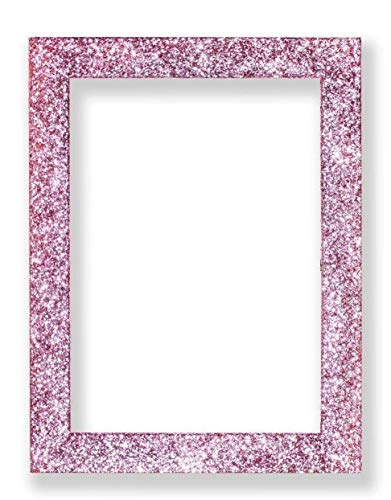 Memory Box Glitter Range Photo Frame Sparkling Glitter Effect Picture/Photo/Poster Frame with Real Glass - Moulding 35mm Wide and 24mm Deep - (25.4 x 20.3cm) 10