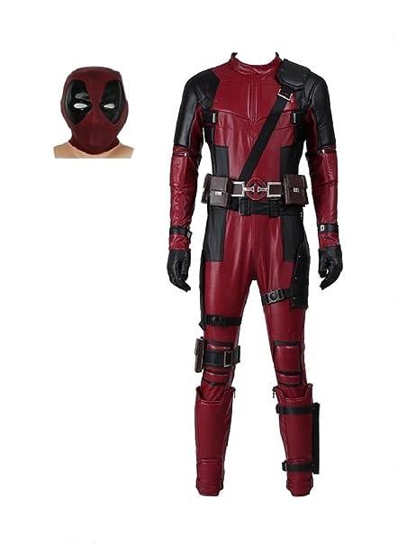 Amazon.com: SevenJuly1 DP - Disfraz de piel para disfraz de ...