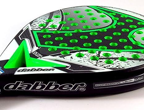 Dabber MAX D4 Pala De Pádel, Hombre, Verde Fluor: Amazon.es ...