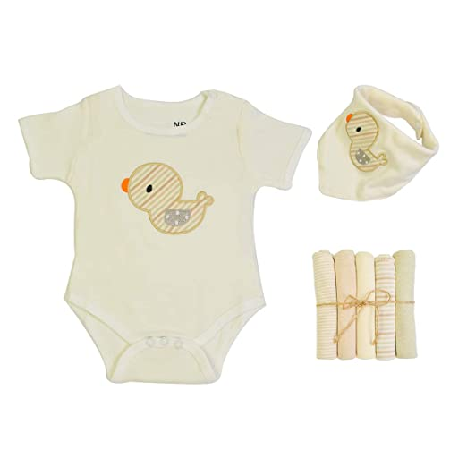 735c8dcb1 Amazon.com  Newborn Baby Bodysuits Set