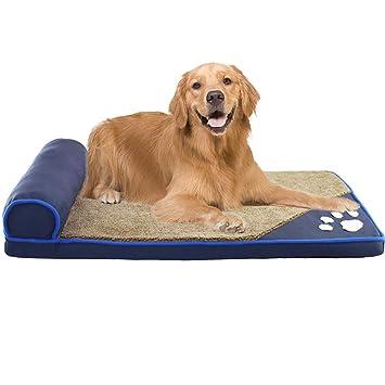 Cama de perro Cama Lavable para Perros, Cama ortopédica para ...