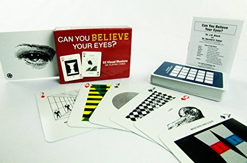 U.S. Games Systems Can You Believe Your Eyes? Deck of Visual Illusion Poker Playing Cards (Playing Illusions Optical Card)
