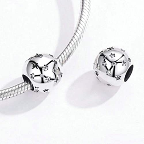 e71d9846148 Y.M.Evergreen Ocean Heart Charm Fit Charms 925 Steriling Silver Charms Bead  Ocean Sea Charm for Bracelet and Necklace Women Girls Gift Ch6808