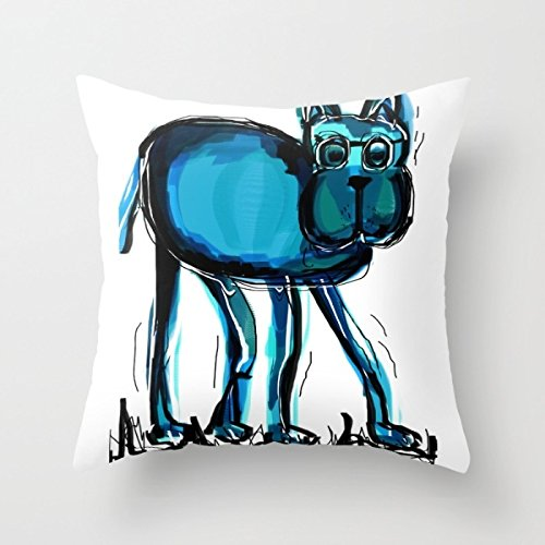[Elegancebeauty 16 X 16 Inches / 40 By 40 Cm Dogs Cushion Covers,each Side Is Fit For Family,monther,dance] (Gaga Dance Costumes)
