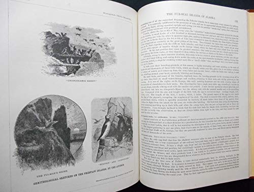 Tenth Census, 1880: The Newspaper and Periodical Press By S.N.D. North; Alaska: Its Population, Industries, and Resources, By Ivan Petroff; The Seal Islands of Alaska By Henry W. Elliott; & Ship-Building Industry in the United States By Henry Hall