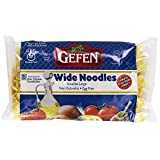 Gefen Kosher For Passover And All Year Round Gluten Free Pasta, Wide Noodles, 9 Ounces