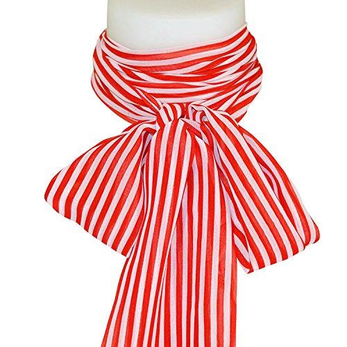 Chapeau-tendance - Grand foulard hotesse rouge - - Femme