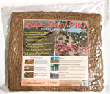 EarthAid Slope Saver PRO Erosion Control Kit (140 Square Feet Jute Netting, 52 Steel Soil Staples)