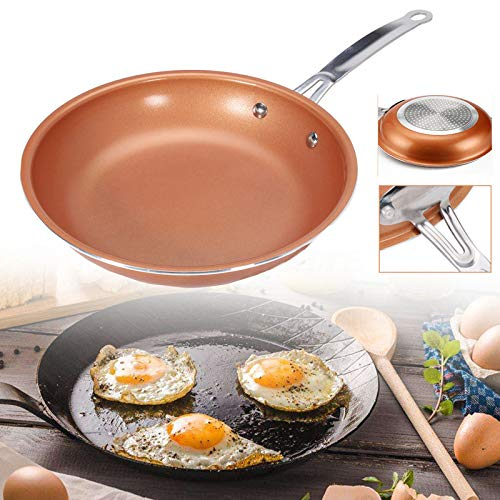 Non-stick Red Copper/Ceramic Frying Pan Gotham Steel 22cm ()