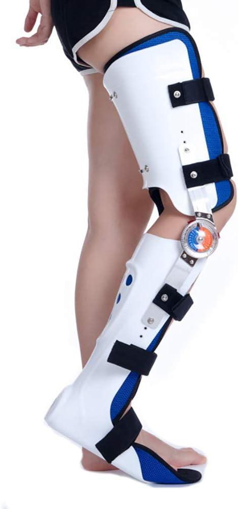 GJNVBDZSF Soporte para los pies, ortesis de Tobillo y pie Soporte Fijo de Cadera y Rodilla para Fascia, Estiramiento de tendones y pantorrillas, Entrenamiento de rehabilitación