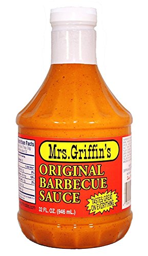 Mrs Griffin's Regular BBQ Sauce 32 oz - Tangy Mustard Based