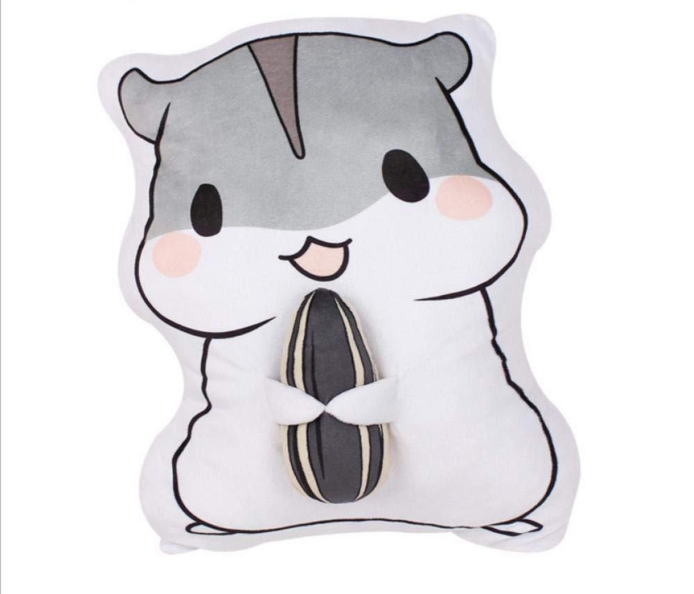 Bayue Cartoon Plush Toy Pillow Cushion Toy Girlfriend Birthday Present Zhaozb (Color : Grey) by Bayue