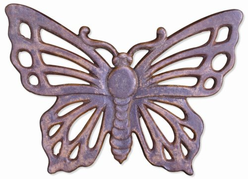 Cast Iron Stepping Stone - Butterfly
