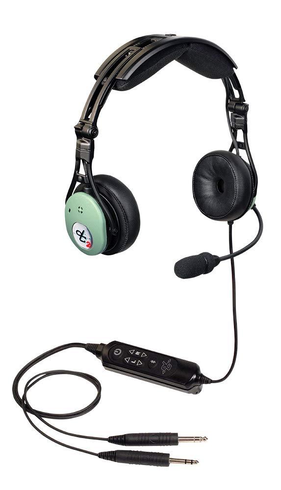 David Clark DC PRO-X2 Hybrid Electronic Noise-Cancelling Aviation Headset