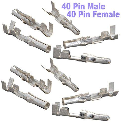 ((40 Pair)) Molex Pin : Male & Female : .093