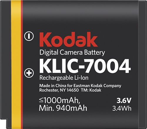 Kodak Li-Ion Rechargeable Battery/KLIC 7004 by Kodak