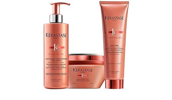 Kerastase Discipline Curl ideal limpieza Acondicionador 400 ml ...