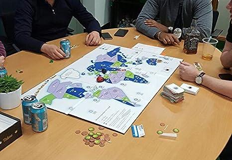 CANNABIS MARIJUANA 420 BOARD GAME LIMITED EDITION AROUND THE WORLD IN 80 TOKES