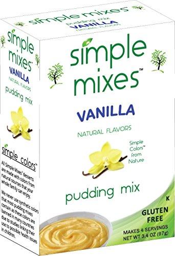 Simple Mixes Pudding Mix, Vanilla, 6 count (Parck of 6) (Recipe Mix Pudding Vanilla)