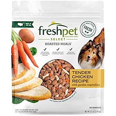 Freshpet Healthy & Natural Dog Food, Fresh Chicken Recipe, 5.5lb