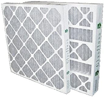 12 PACK 14x14x1 GLASFLOSS HIGH EFFICIENCY MERV 8 PLEATED FURNACE FILTERS