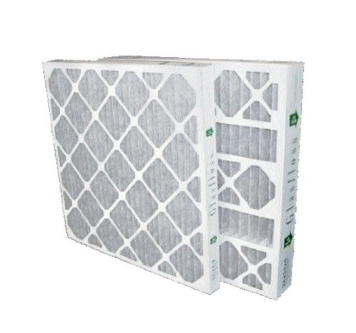 10x10x1 Merv 8 Furnace Filter by Glasfloss Industries 12 Pack