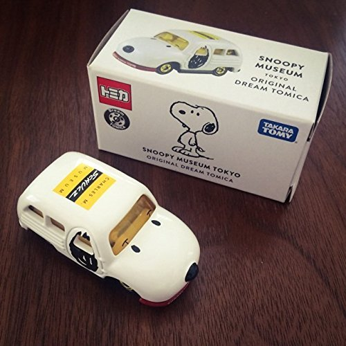 Snoopy Museum Tomica Car