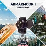 Sun Company ArmArmour 1 - Shielded Wrist Compass
