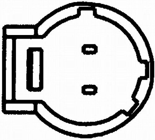 Kurbelwelle Anschlussanzahl 2 HELLA 6PU 009 163-971 Impulsgeber mit fahrzeugspezifischem Adapter