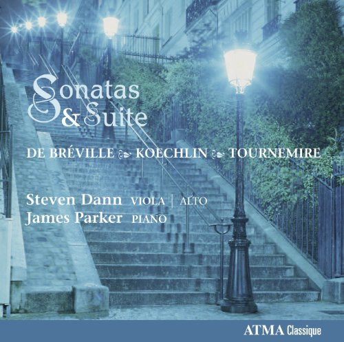 Price comparison product image De Brevillle / Koechlin : Sonata for Viola and Piano, Tournemire: Suite in Three Parts