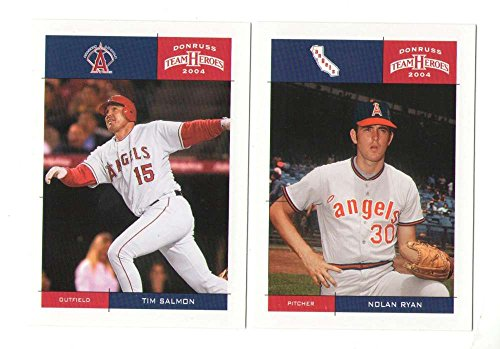 2004 Donruss Team Heroes - ANAHEIM ANGELS Team Set