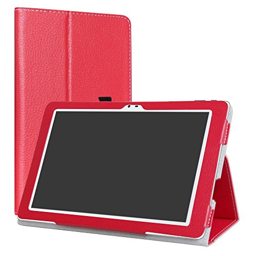 Insignia Flex NS-P16AT10 Case,LiuShan PU Leather Slim Folding Stand Cover for 10.1