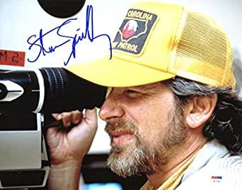 Steven Spielberg Jurassic Park Authentic Signed 11X14 Photo PSA/DNA #V27730