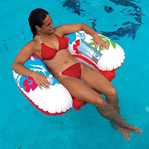 14-2030 WOW World of Watersports U-Float Inflatable Floating Lounge Cup Holder WOW Watersports