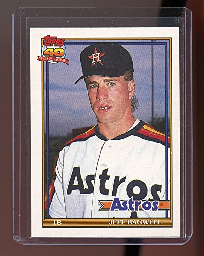- 1991 Topps Traded #4T JEFF BAGWELL Houston Astros ROOKIE card