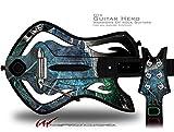 Aquatic 2 Decal Style Skin - fits Warriors Of Rock Guitar Hero Guitar (GUITAR NOT INCLUDED)