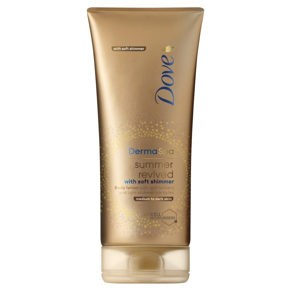 Dove dermique SPA été Revived brillance progressif Autobronzant lotion, 200 ml 109080374