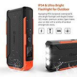 Jackery New Spark, 800A Peak 18000mAh Portable Car Jump Starter with Smart Jumper Cables Battery Booster with Built-In LED Flash Light for Automotive Truck Motorcycle Boat Snowmobile