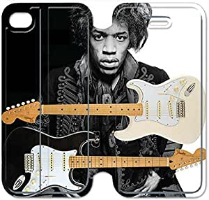 Leather Smart Cover With Flip Stand Phone Case iphone 5C-Jimi Hendrix-30