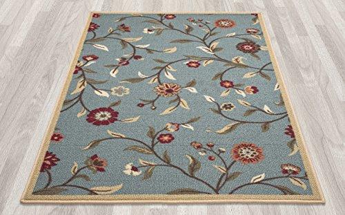 ottomanson ottohome collection floral garden design non