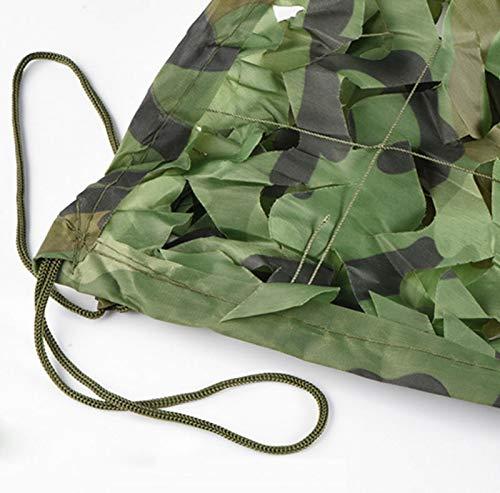 E 1010m Filet de camouflage Filet de camouflage en tissu Oxford Peut être utilisé pour le camping, tentes de chasse cachées, camouflage, parasol, observation des oiseaux, tir de la faune, fête, HalFaibleeen, déc