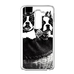 DASHUJUA Cute gentle dog Cell Phone Case for LG G2