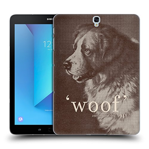 Official Florent Bodart Famous Quote Dog Animals Hard Back Case for Samsung Galaxy Tab S3 9.7 from Head Case Designs