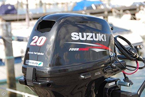 Amazon com: Suzuki 20HP 4-Strk EFI Outboard Motor Tiller 20