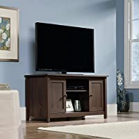 Sauder 416923 Rum Walnut Finish County Line TV Stand