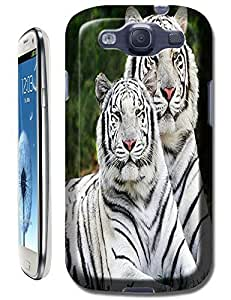 Tiger Case Cover Hard Back Cases Beautiful Nice Cute Animal hot selling cell phone cases for Samsung Galaxy S3 # 24