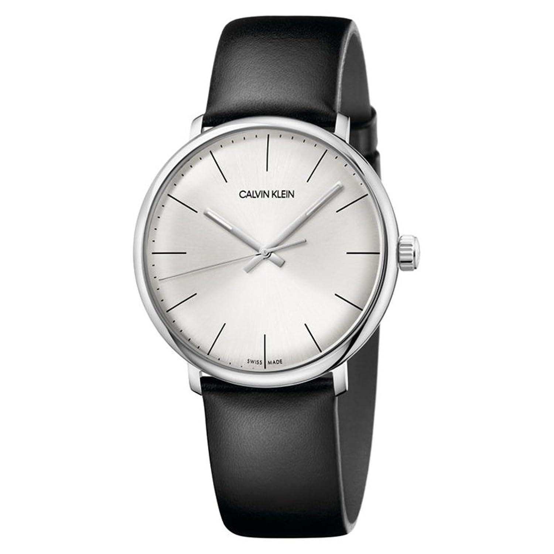 Calvin KleinメンズHigh Noon腕時計 – k8 m211 C6 One Size シルバー/ブラック B07B68C4JZ  シルバー/ブラック