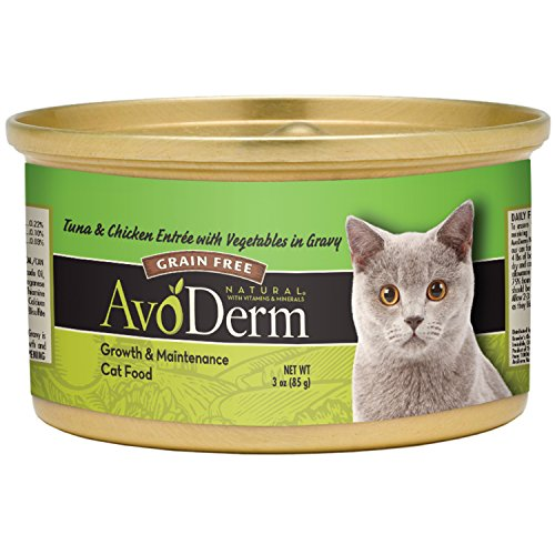 AvoDerm Natural Tuna & Chicken Entree with Vegetables - 24x3 oz