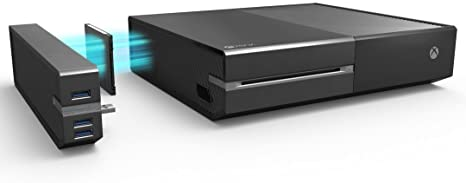 Skywin 4 TB Disco duro externo de Xbox One y media hub de USB 3.0 ...